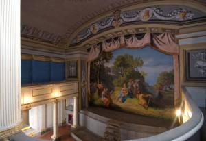 Il teatrino di corte del Castello di Aglié