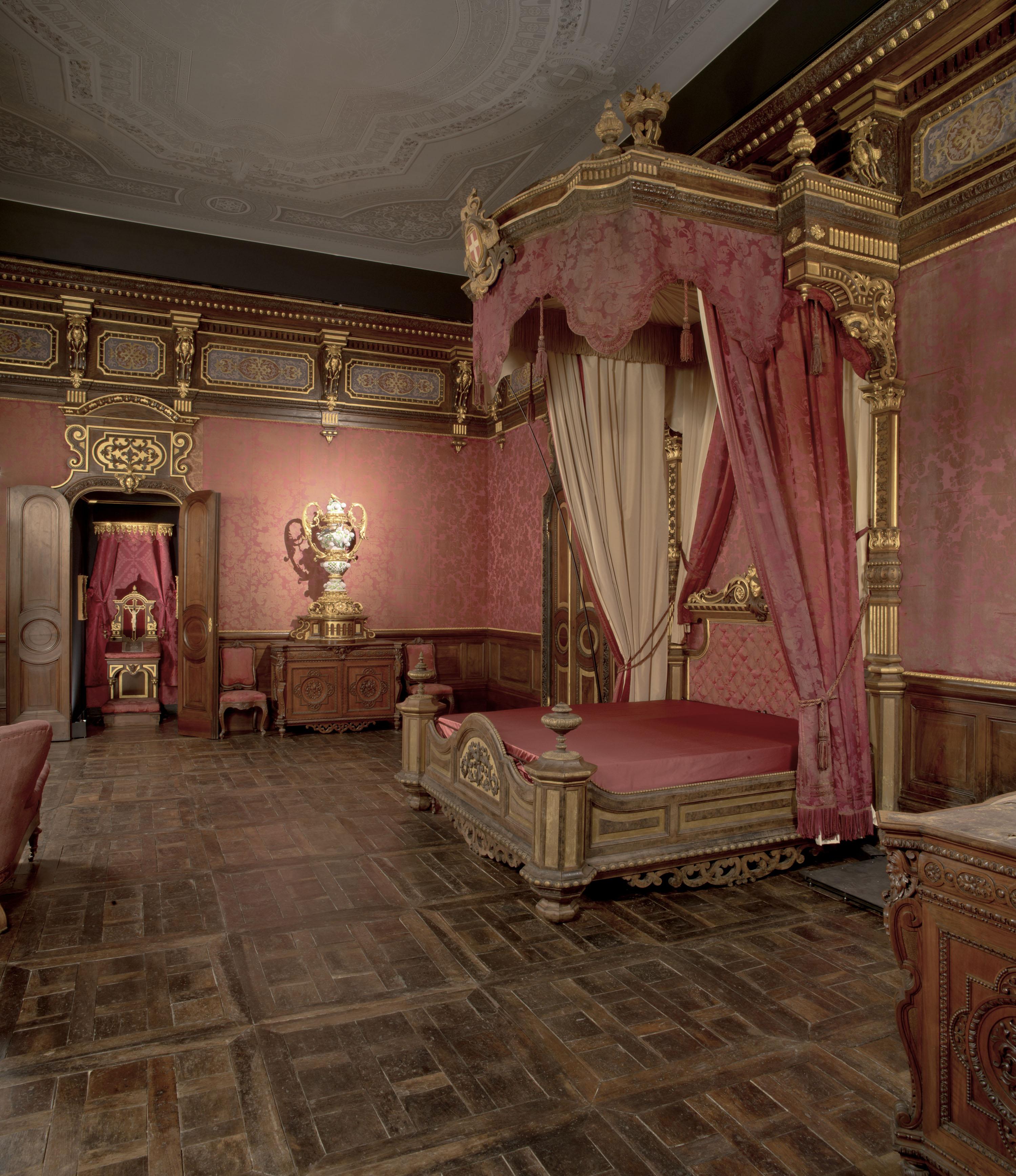 Riapre il castello di moncalieri da sabato 11 novembre 2017 polo museale del piemonte - Dipinti camera da letto ...