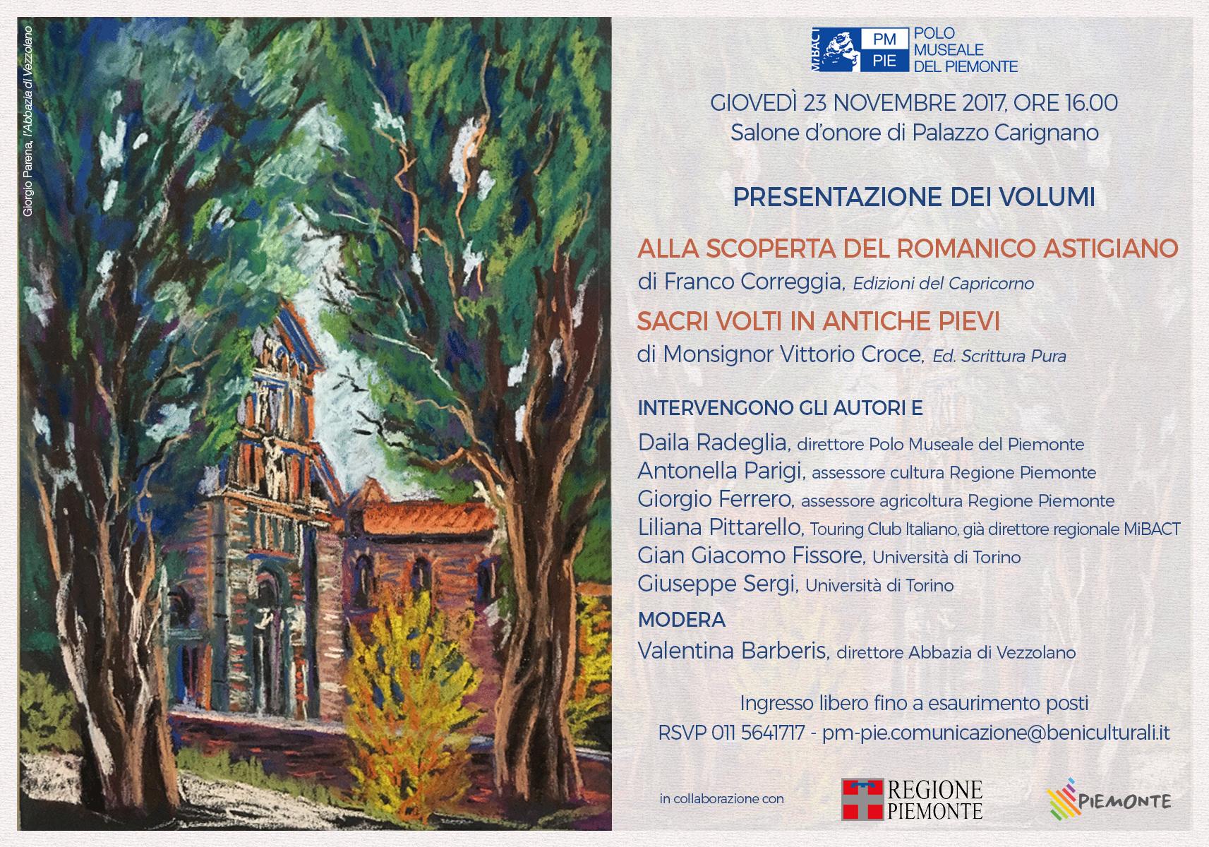 Presentazione libri romanico - 23.11.17