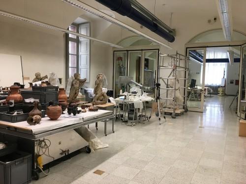 2_Laboratorio di restauro Palazzo Carignano